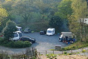 campsites near aberdyfi nyth robin