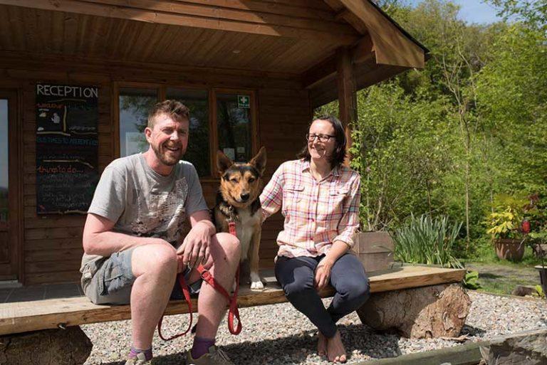 grant and sadie at nyth robin
