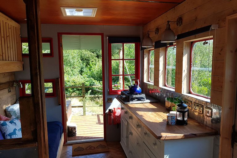 glamping horse ox kitchen