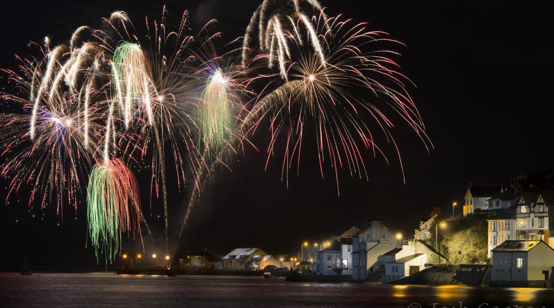 aberdovey new year fireworks